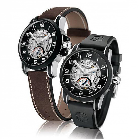 Photo: Victorinox Swiss Army. The watch came with 2 straps