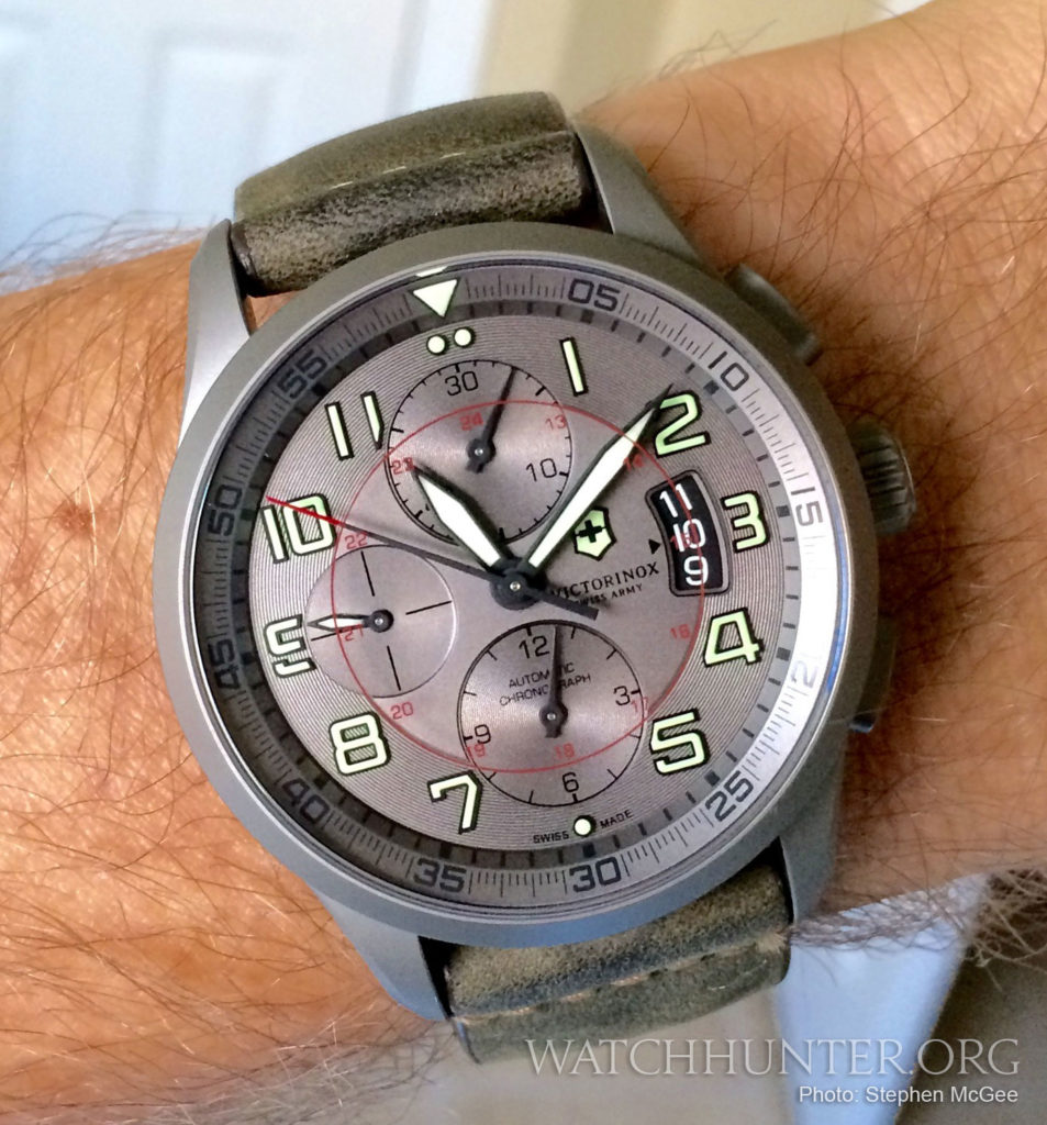 Yep... Another photo of the Airboss Titanium Chrono by Stephen McGee.