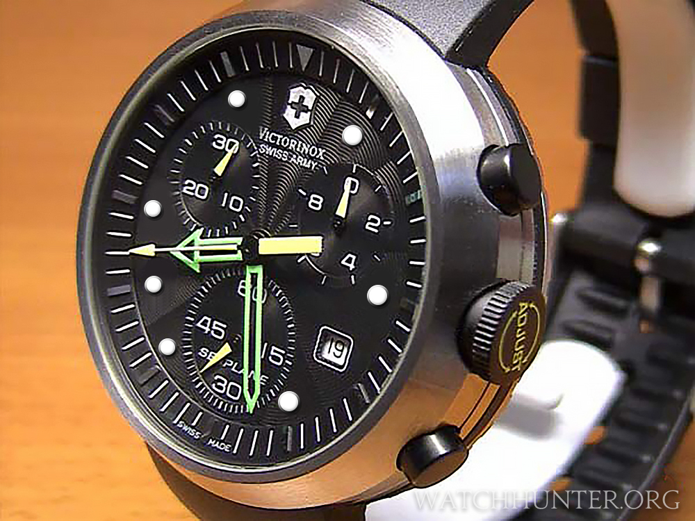 Victorinox Swiss Army SeaPlane Chronograph - fantasy dial with dot indices