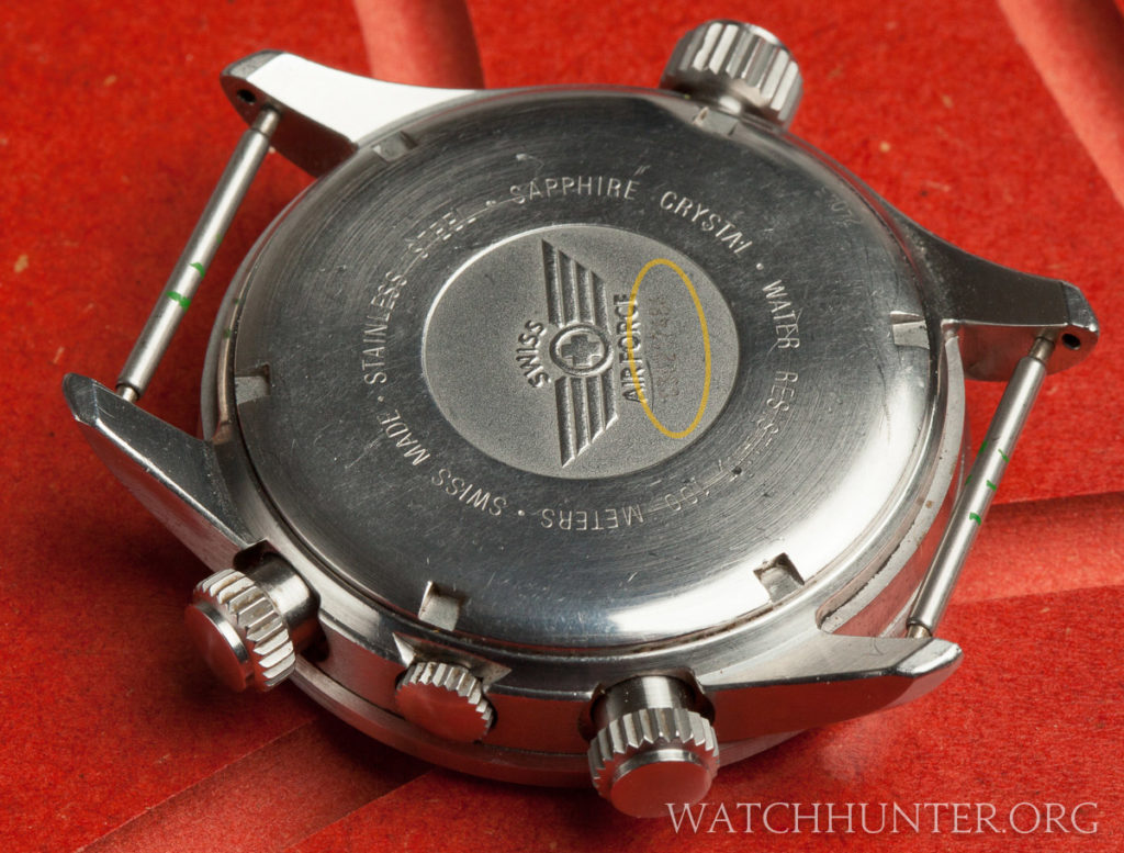 Some Victorinox Swiss Army serial numbers that are not etched can difficult to read on older models.