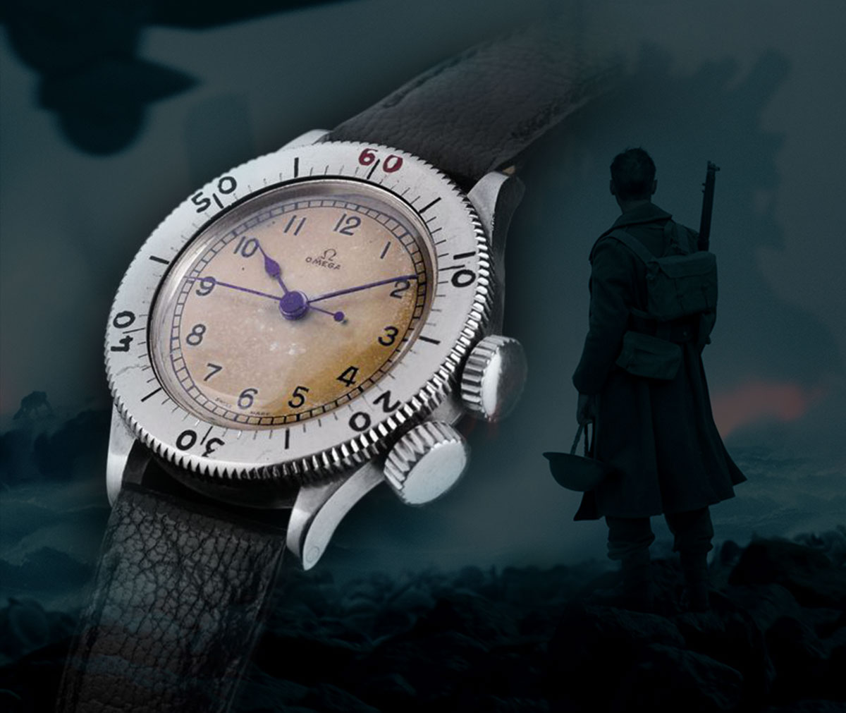 Omega watch used in Dunkirk movie