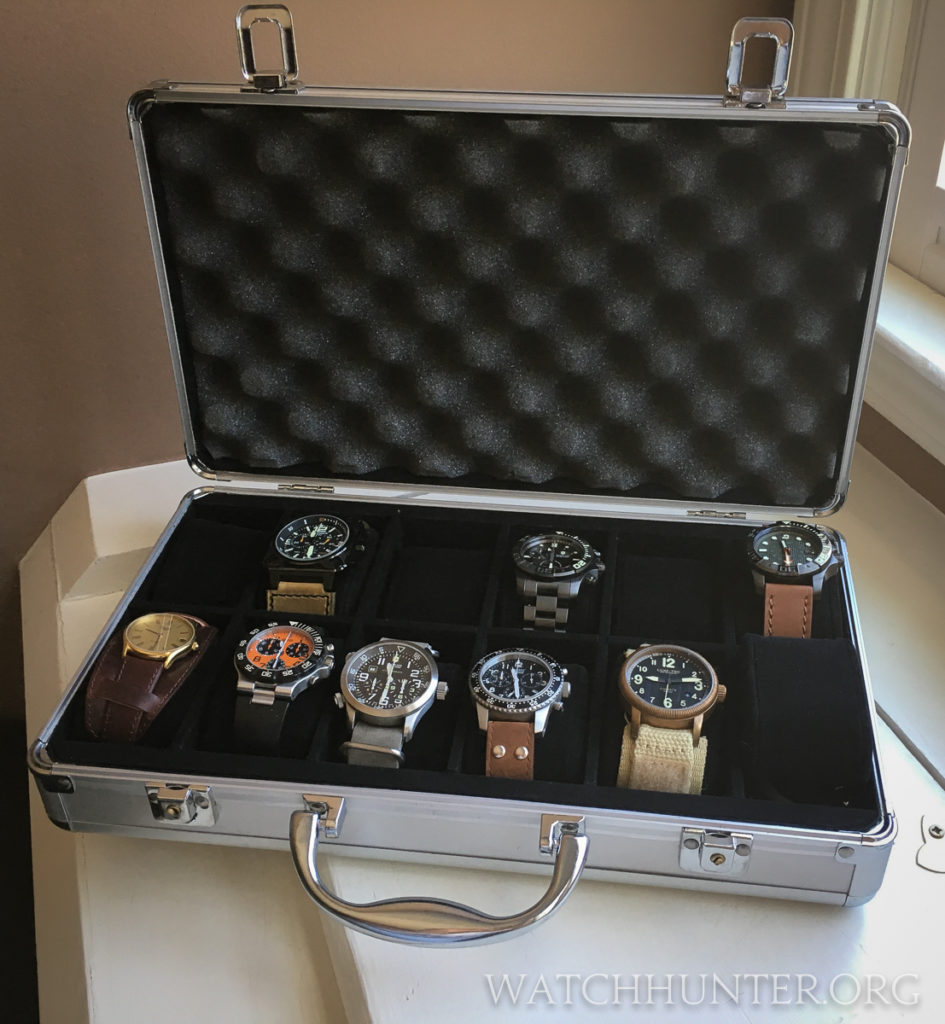 Every watch collector should have a safe and secure way of transporting their watches to local events