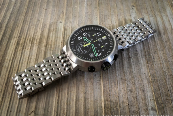 Grail watch acquired... the Victorinox Swiss Army SeaPlane Chrono is fun and funky!