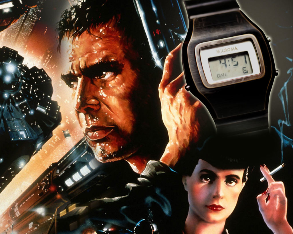 Harrison Ford's Blade Runner movie watch from 1982.