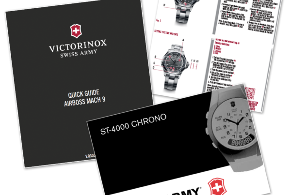 Victorinox Swiss Army User Manuals and Guides