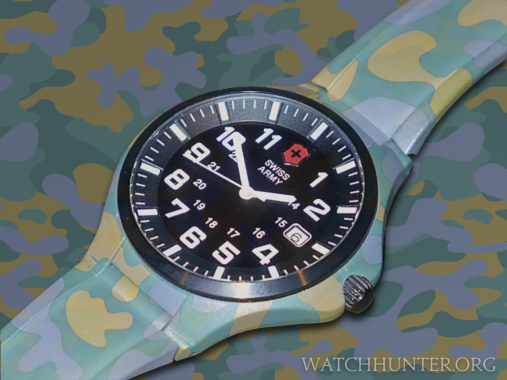 Victorinox Swiss Army BaseCamp camouflage Prototype is a one-of-a-kind. Photo: modified from eBay