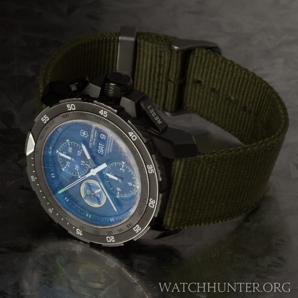 Meet the watch victorinox swiss army limited edition air force one alpnach watch with the for Anti reflective watches