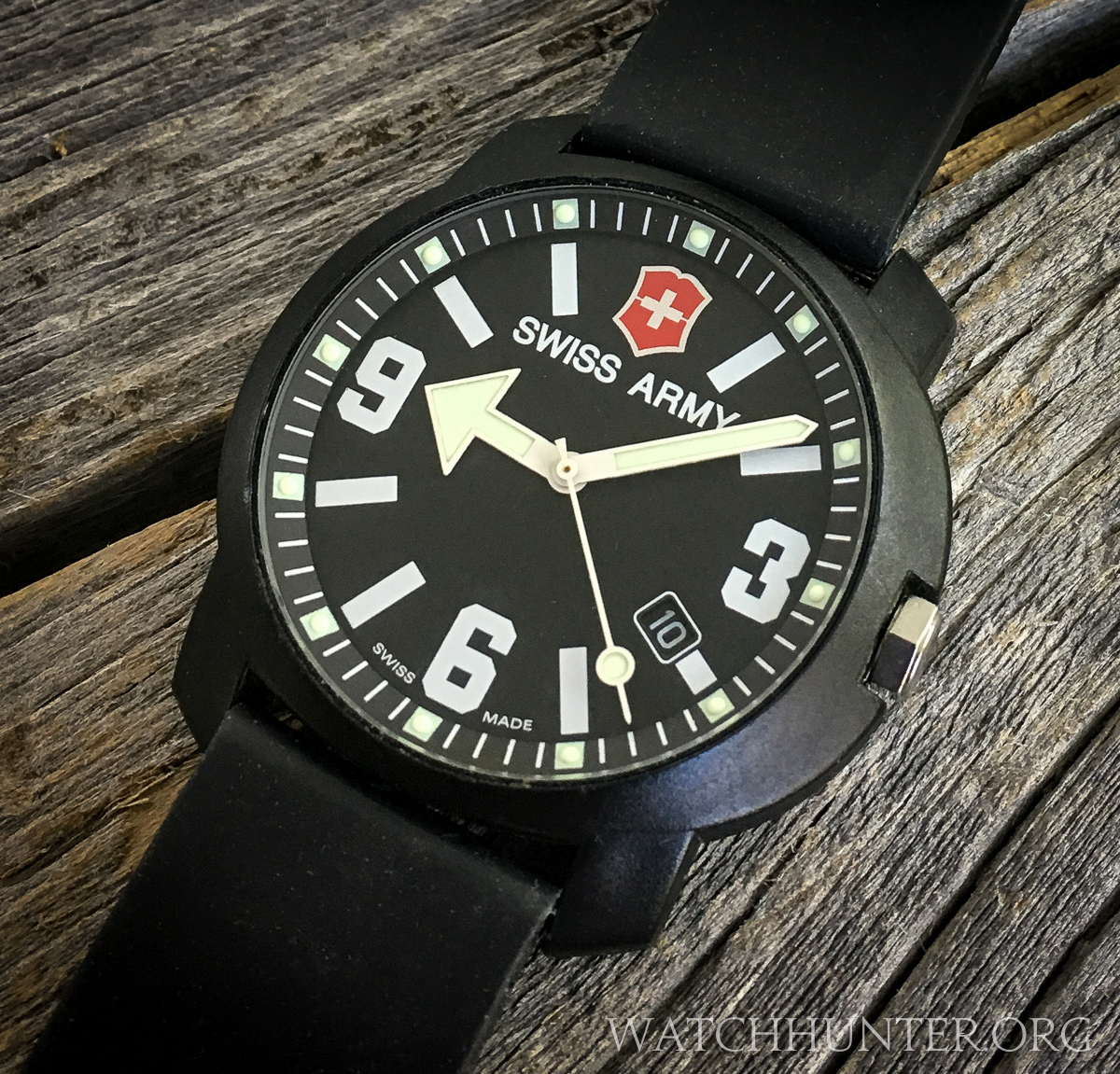Meet The Watch Victorinox Swiss Army Recon Watch With The