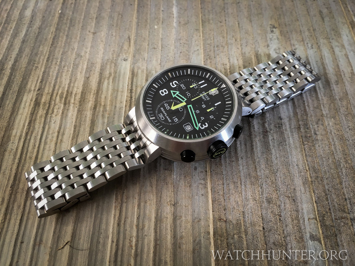 Grail Watch Acquired The Victorinox Swiss Army Seaplane Chrono Is Fun And Funky