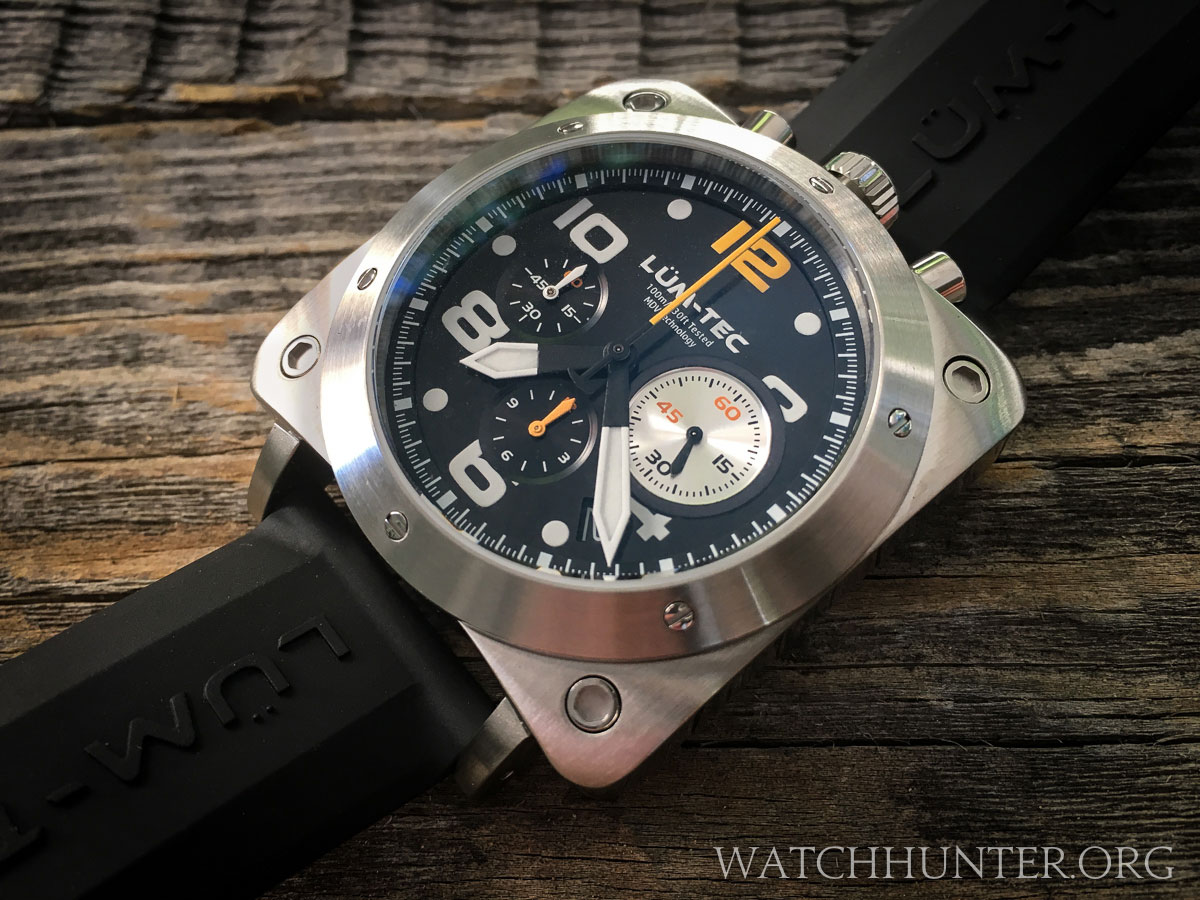 m watches mg l bronze combat tec lum crop