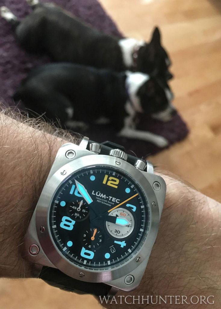 Meet The Watch Lum Tec Bull42 Mecha Quartz Chronograph