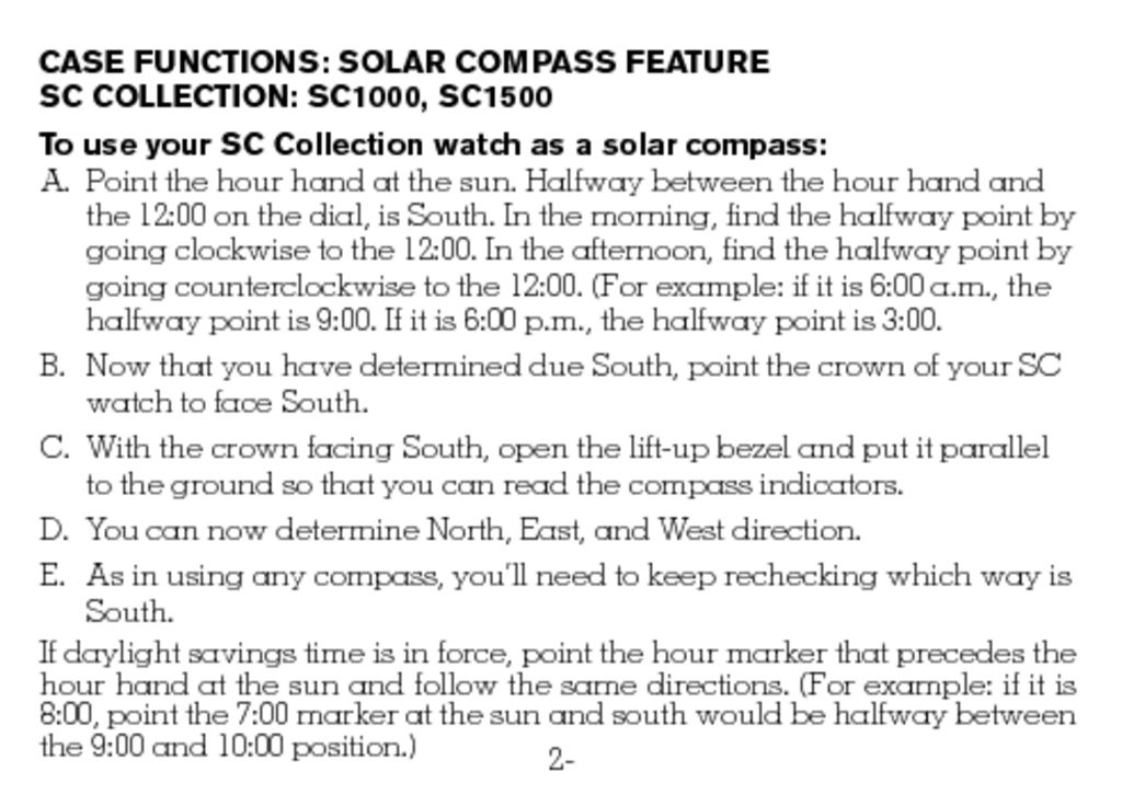 victorinox swiss army watch manual