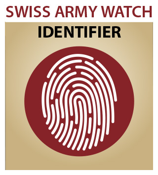 Victorinox Swiss Army Watch Identifier