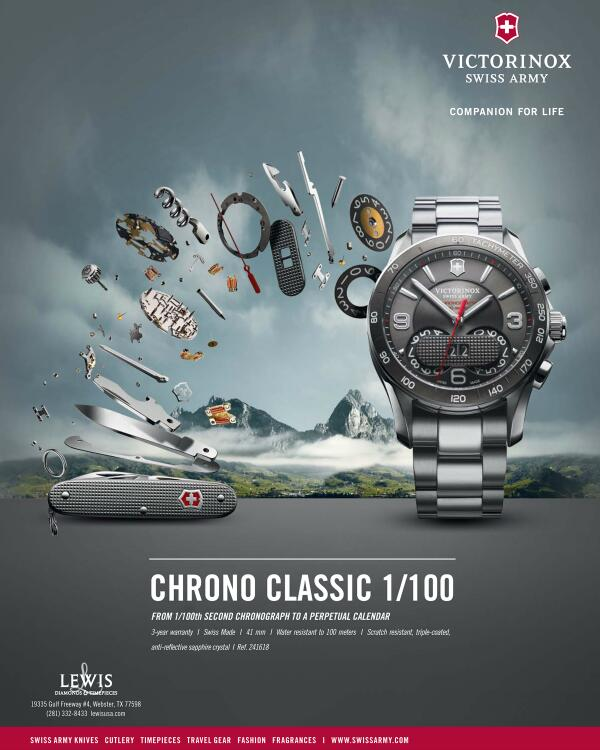 Victorinox Swiss Army Watch Ad Gallery Watch Hunter