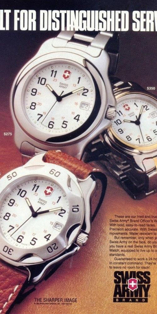 Victorinox Swiss Army Watch Ad Gallery Watch Hunter
