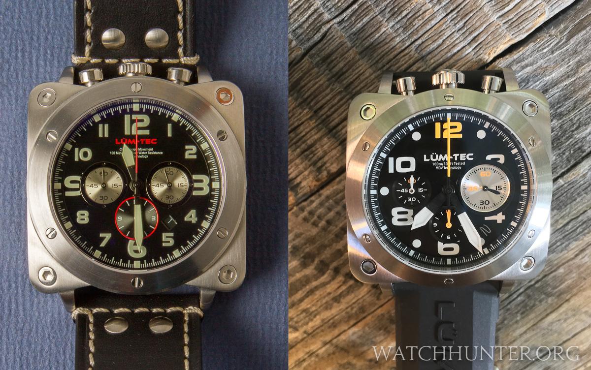 Lum-Tec Bull 45 Men's Chronograph Movement Watch