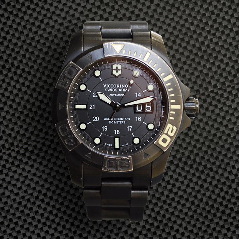 4e29b9d90985 MEET THE WATCH  Victorinox Swiss Army Dive Master 500 Titanium Limited  Edition