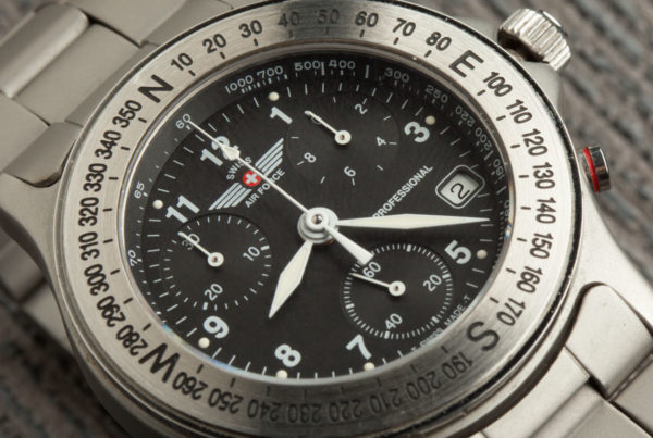 Swiss Air Force 9G-400 Chronograph Review