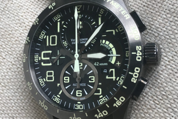 Victorinox Swiss Army Airboss Mach 6 Power Gauge Limited Edition Chrono Review