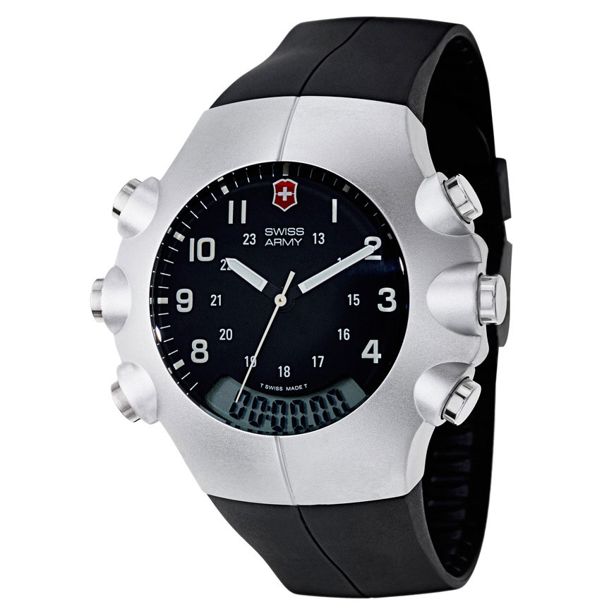 Second Hand Watches >> Analog-Digital Watches by Victorinox Swiss Army Archives - Watch Hunter - Watch Reviews, Photos ...